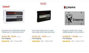 SSD диски с Алиэкспресс: обзор лучших моделей