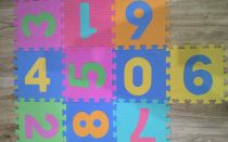 Развивающий коврик пазл для детей с алиэкспресс