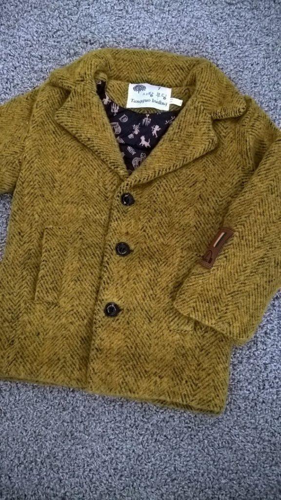 пальто для мальчика 1